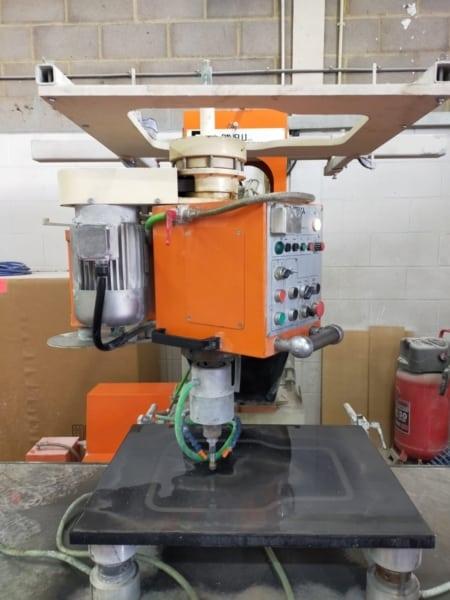 Multifunctional grinding, polishing, drilling machine Ravelli Syrma Carr