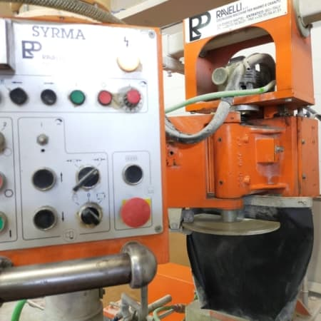 Multifunctional grinding, polishing, drilling machine Ravelli Syrma Carr