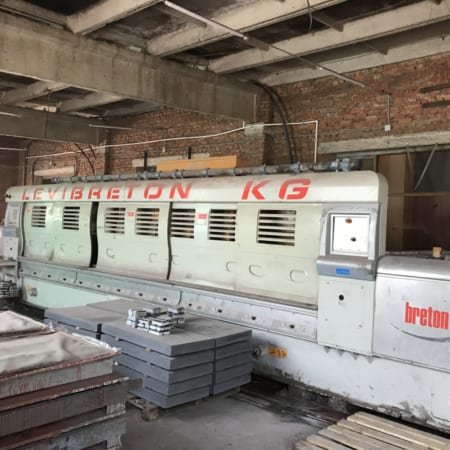 Polishing line granite slabs Breton - Levibreton KG3000
