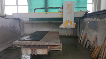 Bridge saw CNC GMM Tria39 - Blade 825 mm