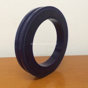 Profile rubber for main flywheel