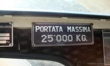 Mobile crane Fiorentini FH 25 FS