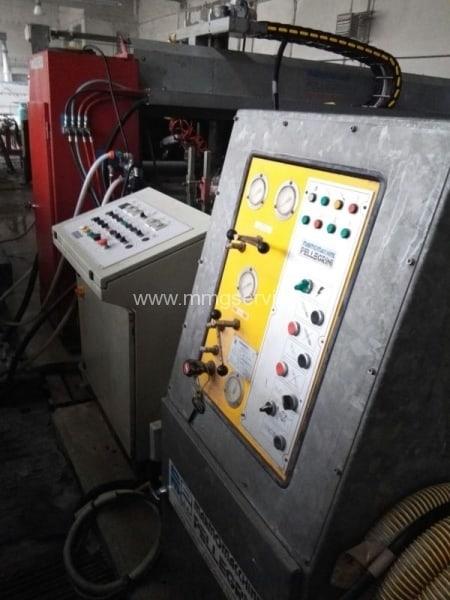 Bush-hammering – Flaming machine Pellegrini FB60/FB220 for slabs