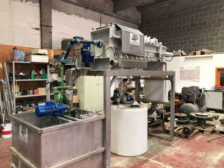 Filter press Zanasi Delta Acque 10/500