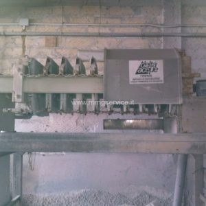 Filter press Zanasi Delta Acque 10/500