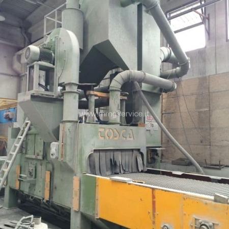 Shot blasting machine Tosca TS-R 1200 TLF