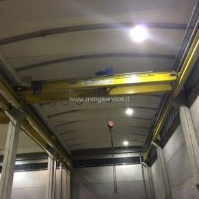 Overhead crane TecnoPonti 10 ton – 11m