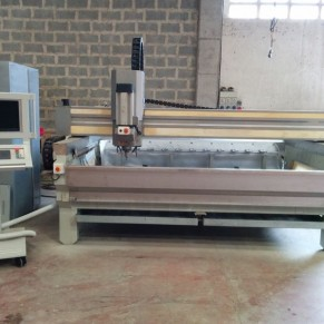 Used CNC 3 interpoled axes reconditioned machine
