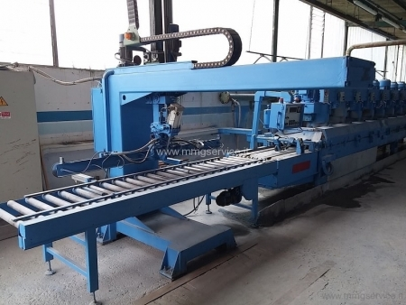 Polishing line granite Pedrini M536