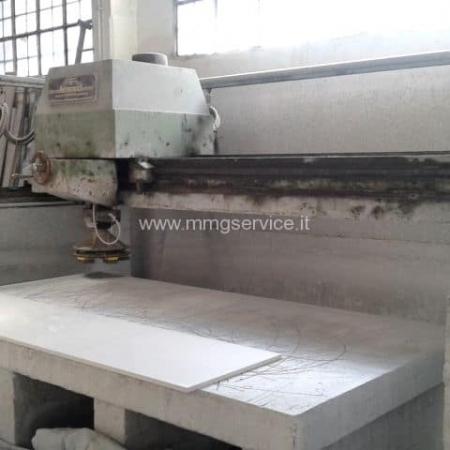 Automatic Single head Polisher for marble slabs Minali