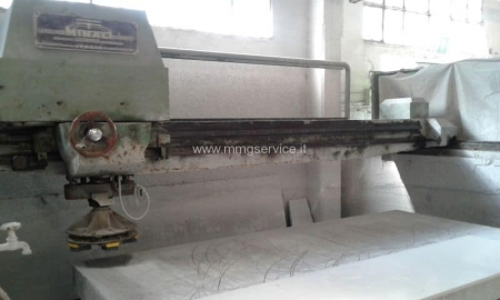 Automatic Single head Polisher for marble slabs Minali