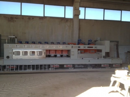 Polishing machine for marble tiles Blandini BLM 8028