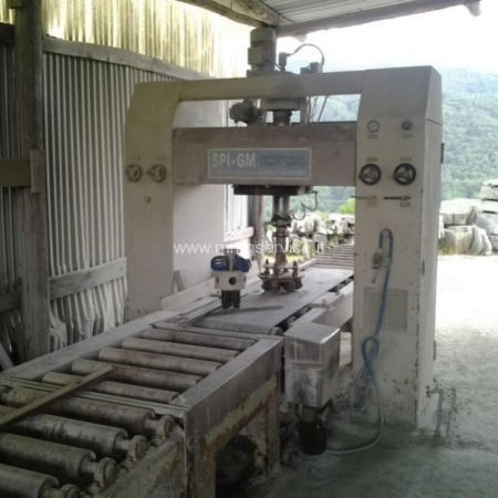Used single-head bush-hammering machine S.P.I. – G.M.