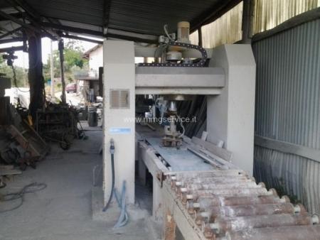 Used single-head bush-hammering machine S.P.I. – G.M.