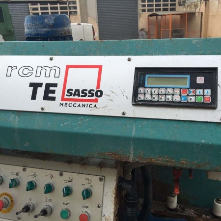 Used Edge polisher Sassomeccanica TE