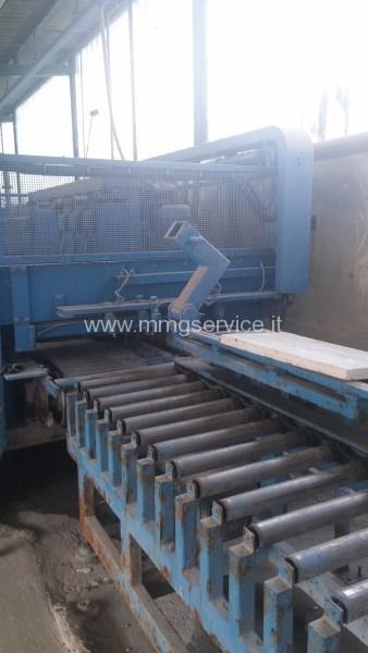 Polishing Line Granite Tiles Pedrini M536 Mmg Service Srl
