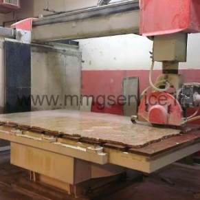 Used bridge saw CNC Pedrini Universal M930 5 axes