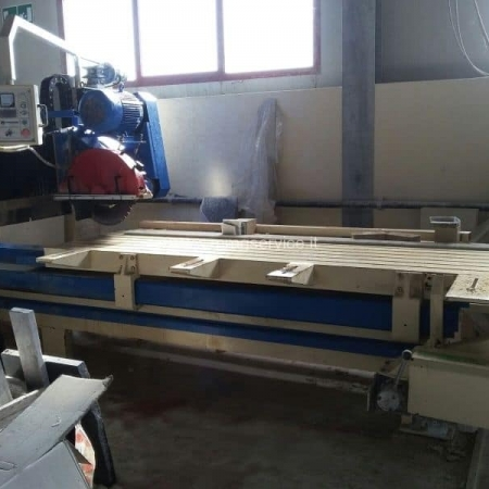 Used edge cutting machine Mascanzoni Williams