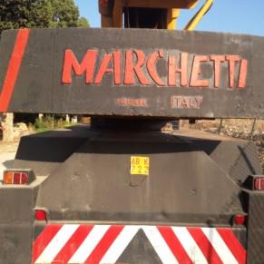 Mobile crane Marchetti 30 ton
