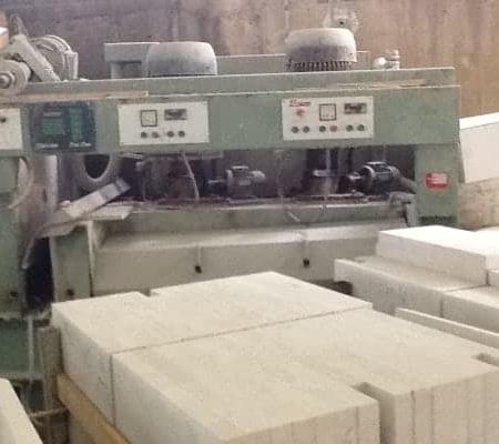 Used Polishing / Calibrating machine for tiles Bacci