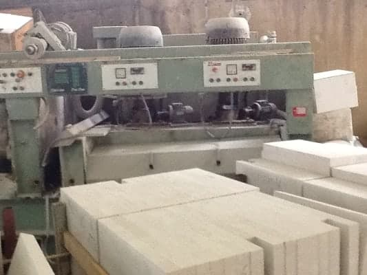 Used Polishing / Calibrating machine for tiles Bacci