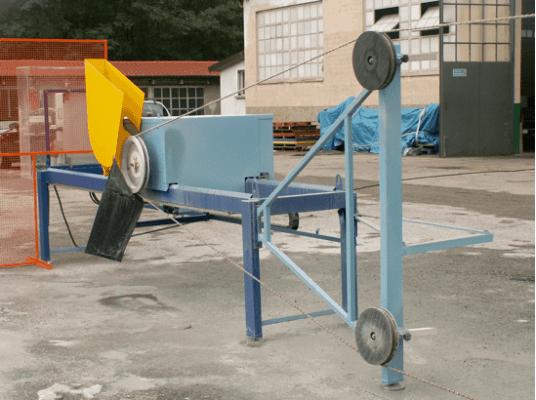 Wiresaw Block cutting machine REVO