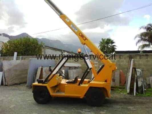 Used Mobile Crane Omar capacity 45ql