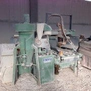 Bush-hammering and Flaming machine Pellegrini CMPM600