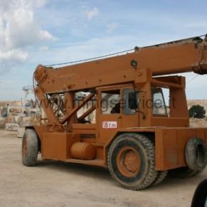 Autogru Semovente Ormig 18 ton