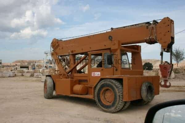 Mobile crane Ormig 18 ton