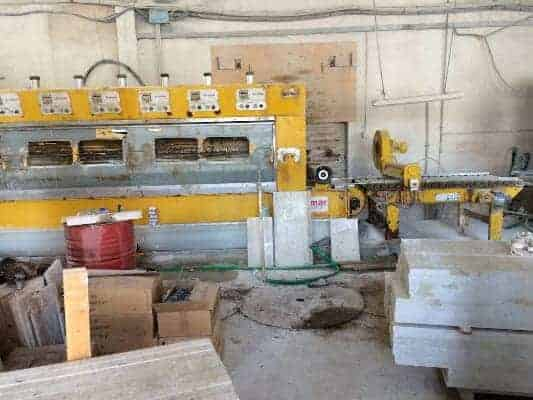 Polishing machine for marble tiles Cemar LMS 650 3+12