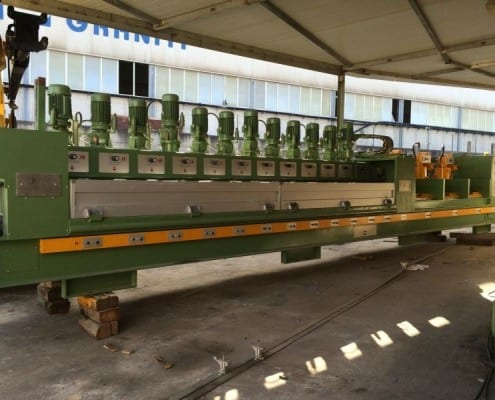 Used Polishing line for marble tiles Barsanti LCA100 312