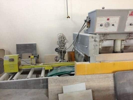 Used polishing machine for marble tiles 40cm Mantello