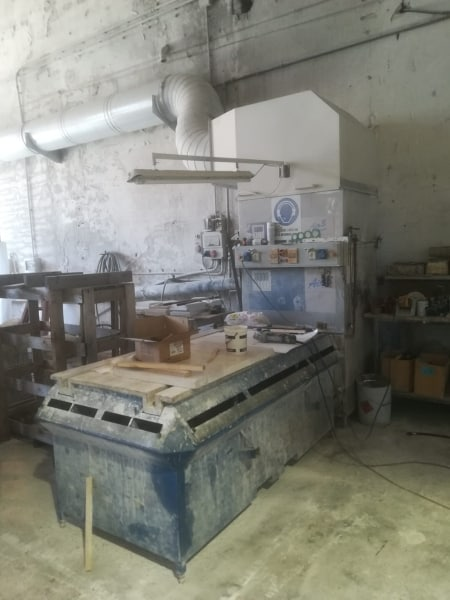 Suction bench Italmecc Air 3