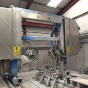 Single wire saw CNC shaping Hensel