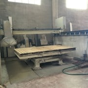 Used Bridge saw Mascanzoni Matrix for marble and granite