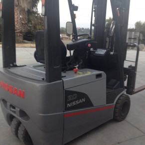 Used forklift Nissan TX4-20HP