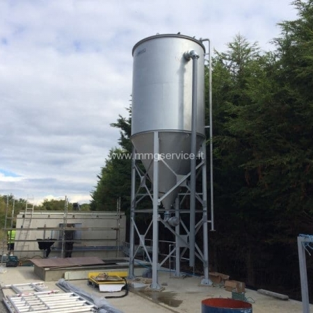 New slurry silo decanter