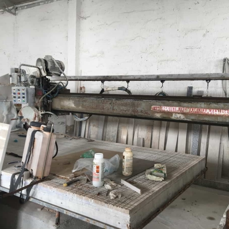 Used Bridge saw Mantello B5 Programmata
