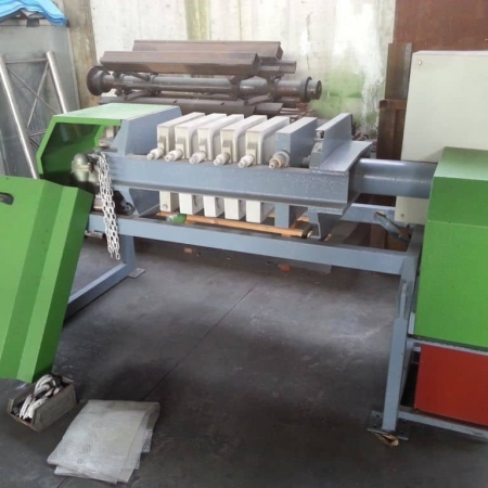 Used filter press Fraccaroli & Balzan 5-400