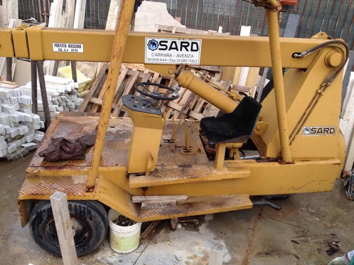 Mobile Crane Machine : Mobile crane sard q mmg service srl