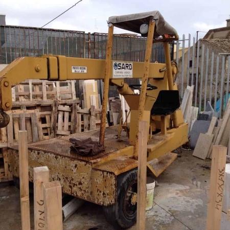 Used mobile crane Sard