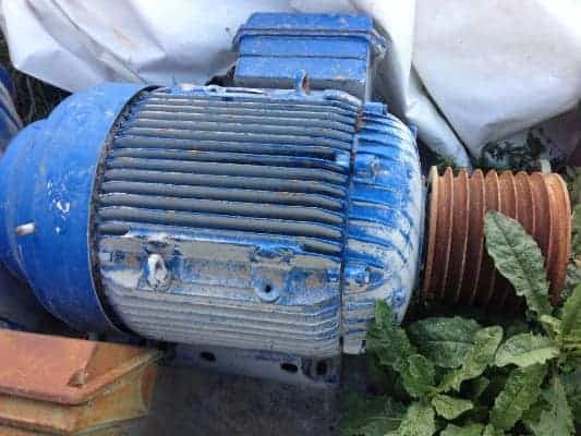 Used Asynchronous Three-Phase Motor FIMET