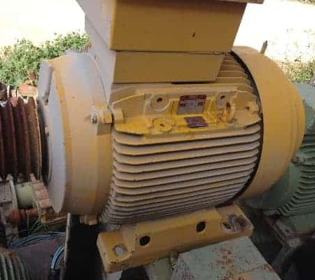 Used Asynchronous Three-Phase Motor FIMET M280M6