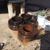 Used bearings for Barsanti gangsaws
