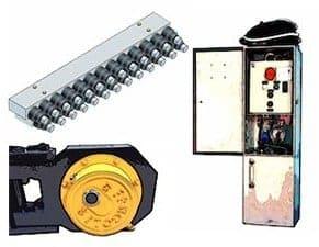 Gangsaws - polishing machines spare parts