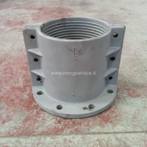 Used aluminium flanges for mud pipes PEMO 80 - 175