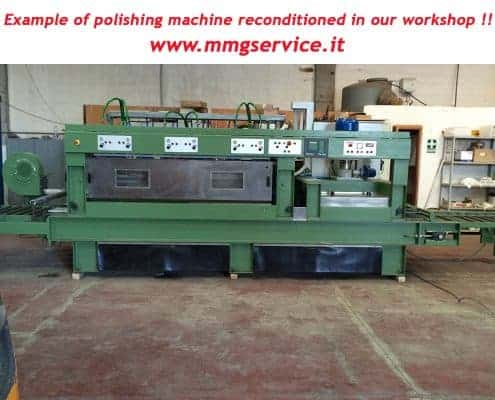 Polishing machine reconditioned