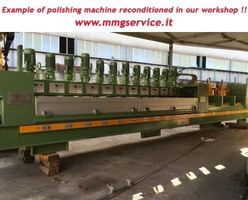 Polishing machine reconditioned