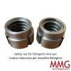 Safety nut for Pellegrini wire saw